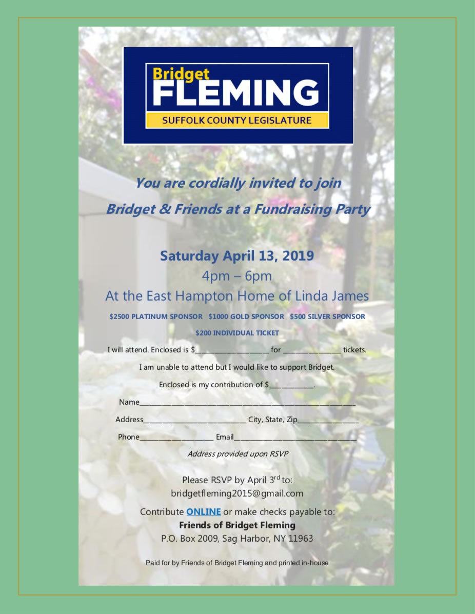Fleming for Legislature - April 13, 2019 Event